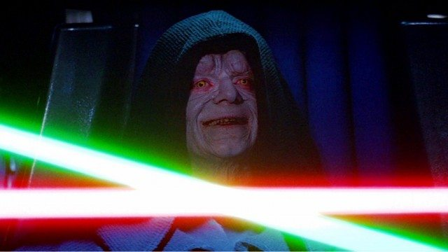 Ian McDiarmid in Star Wars: Return of the Jedi