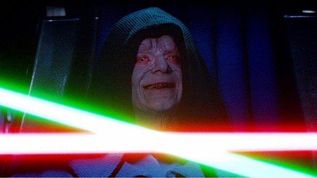 Ian McDiarmid in Star Wars: Return of the Jedi