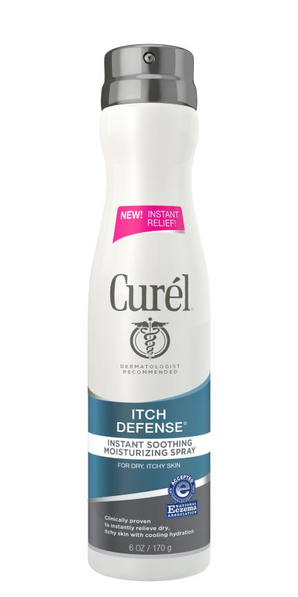 Curél Itch Defense Instant Soothing Moisturizing Spray