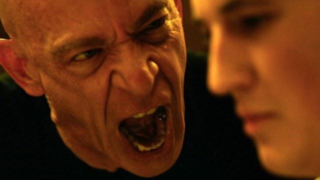 J.K. Simmons and Miles Teller in 'Whiplash'