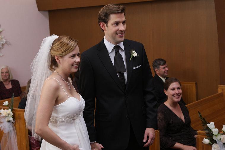 Pam and Jim office romance