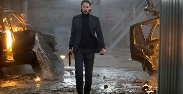 Keanu Reeves in <em>John Wick</em>