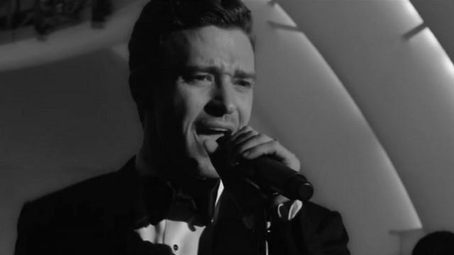 "Justin Timberlake in ""Suit & Tie"""