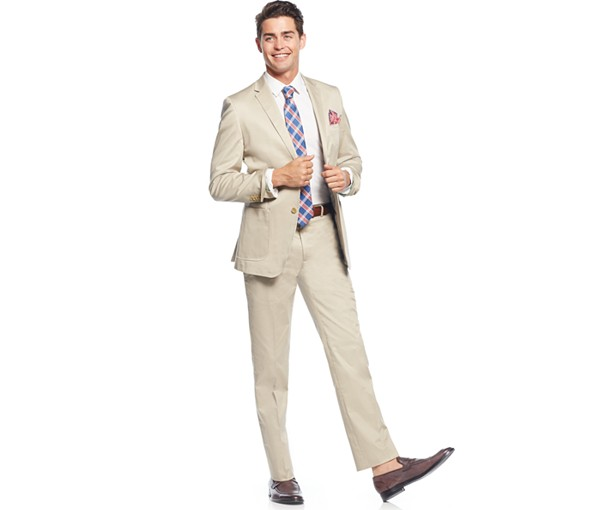 A summer cotton suit