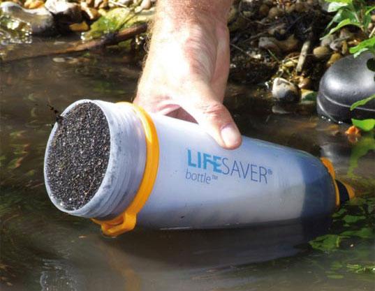 Lifesaver water bottle