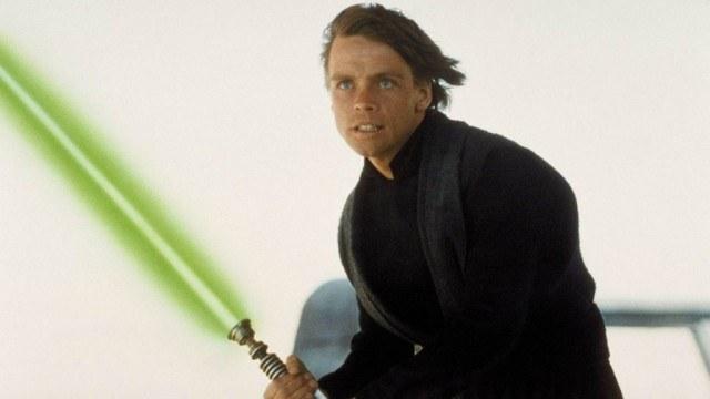 Mark Hamill as Luke Skywalker in 'Star Wars: Return of the Jedi'