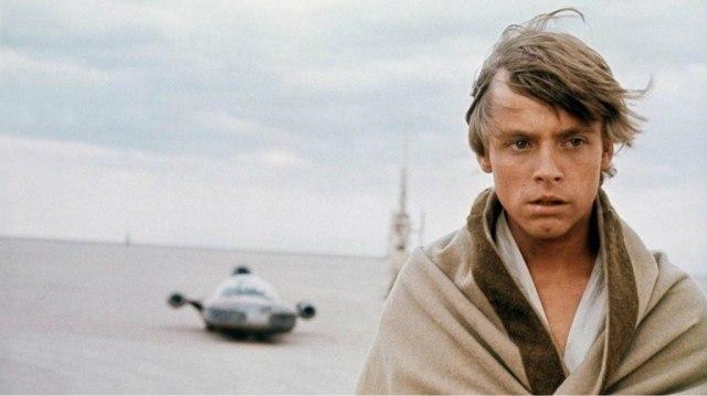 Mark Hamill in 'Star Wars: A New Hope'