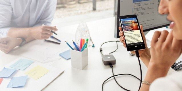 Microsoft Display Dock Continuum Windows 10