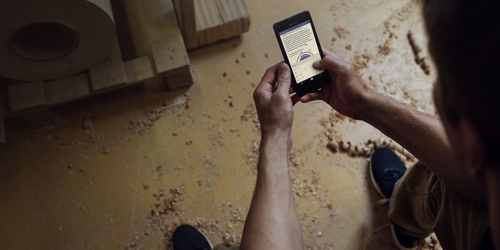 Microsoft Office apps on Lumia 550