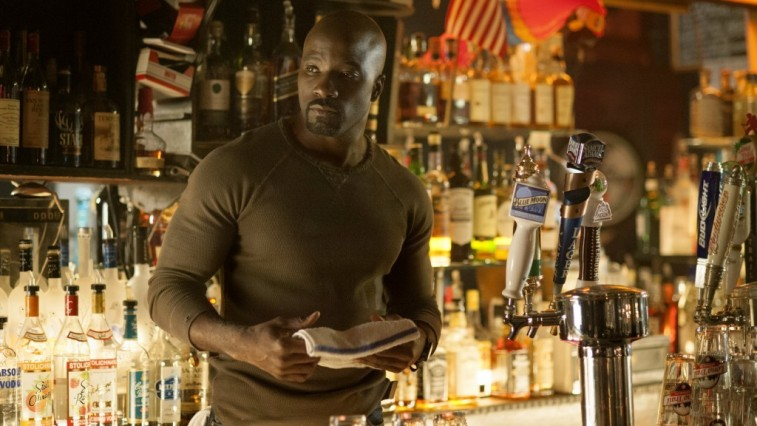 Luke Cage on Jessica Jones
