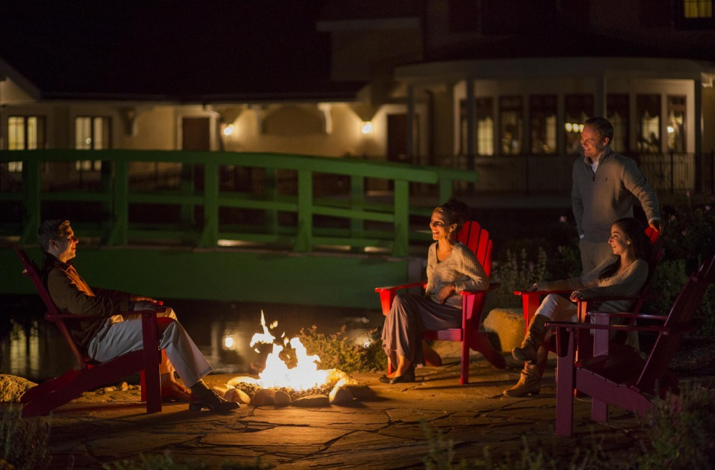Mirbeau Inn & Spa at The Pinehills Firepit - Credit Eric Roth