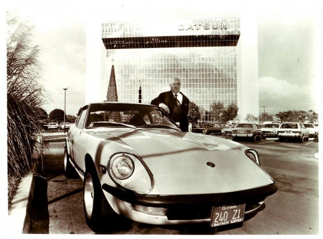 Mr. K with Datsun 240Z | Nissan