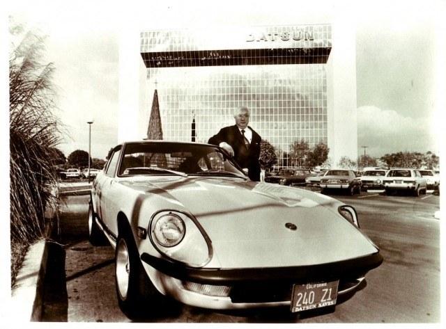 Mr. K with Datsun 240Z | Nissan