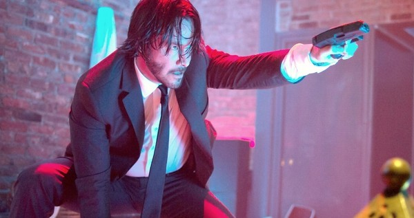 Reeves in <em>John Wick</em>.