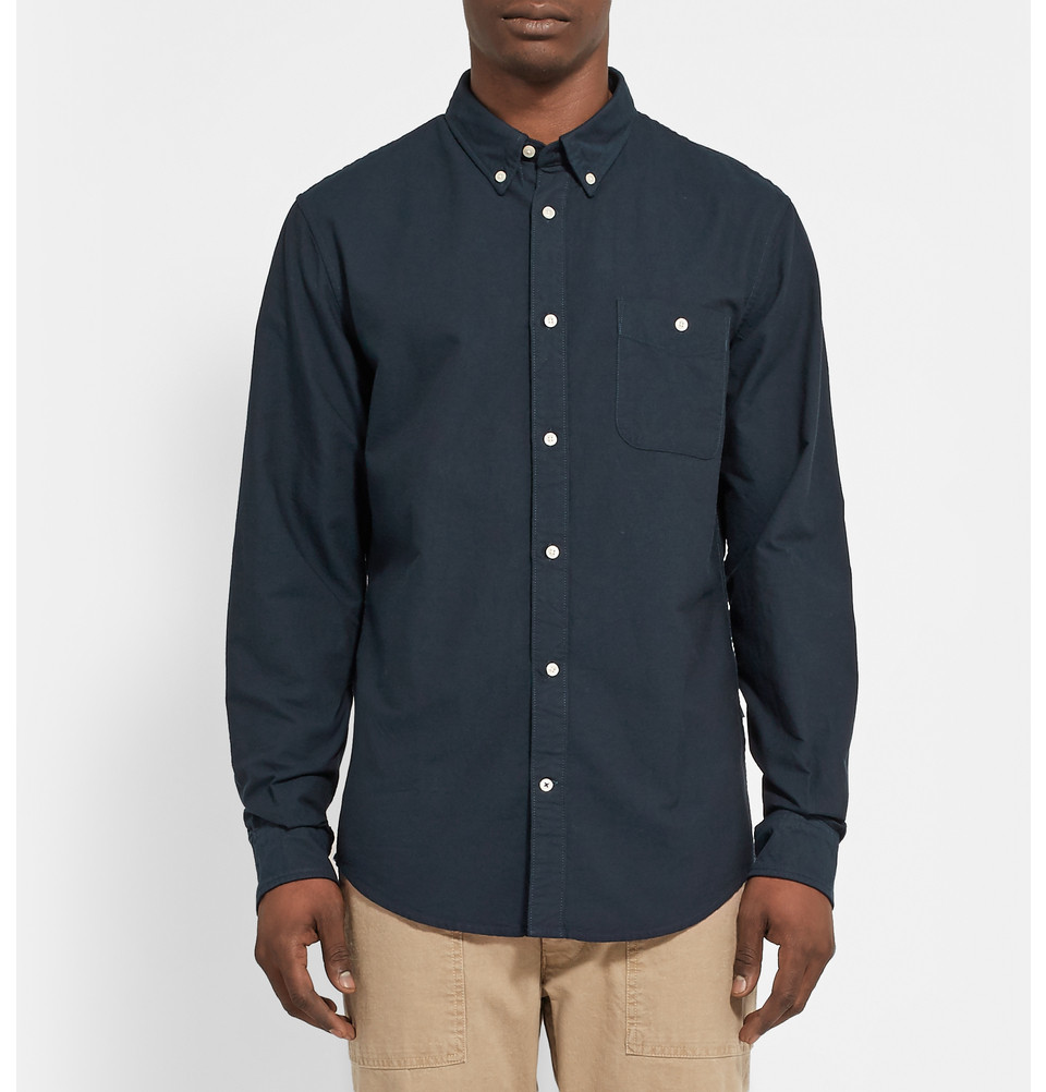 NN.07 cotton oxford shirt