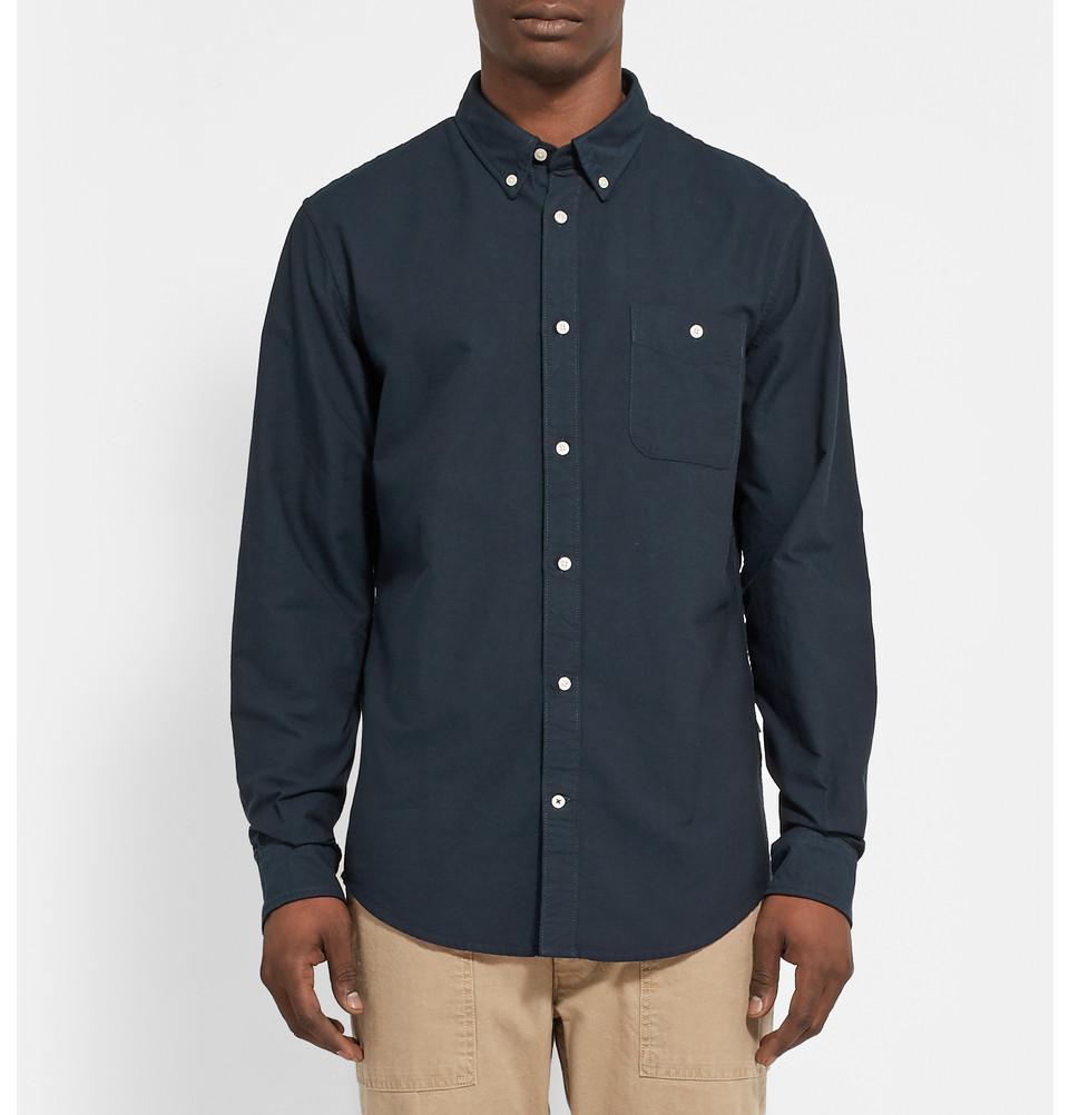 NN.07 cotton oxford shirt