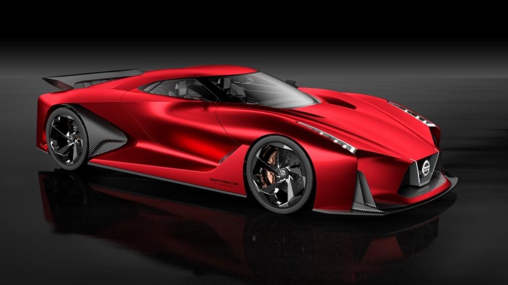 Nissan Concept 2020 Vision Gran Turismo concept