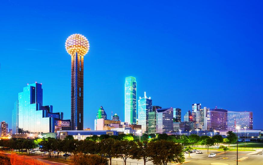Dallas skyline, Craigslist Dallas