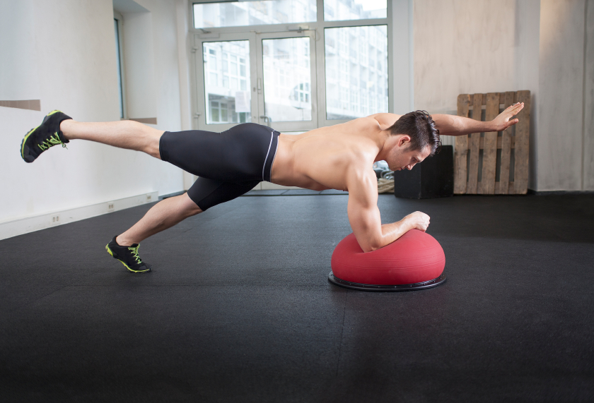 two-point plank is a one of several plank variations