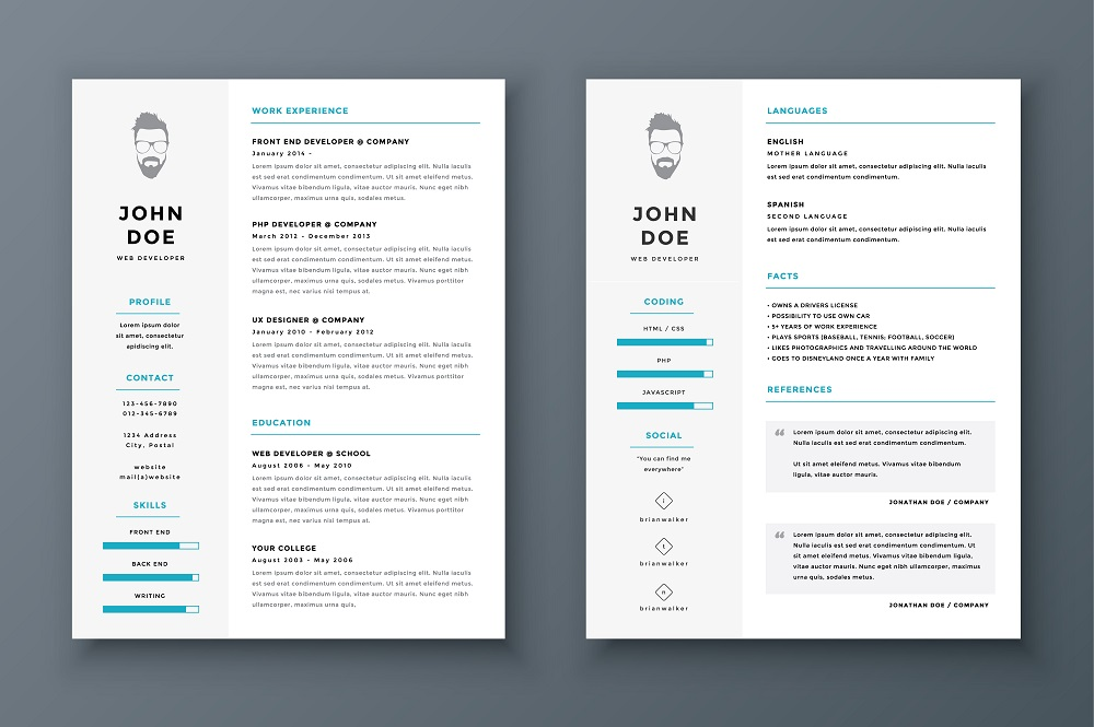 resume - How Should A Professional Resume Look