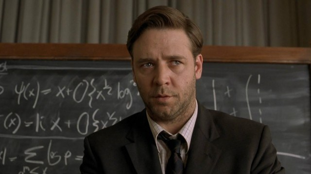 Russell Crowe in 'A Beautiful Mind'