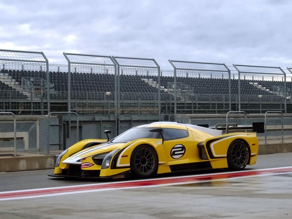 SCG003 racing at Le Mans, 2015