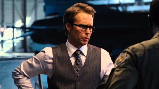 Sam Rockwell in Iron Man 2