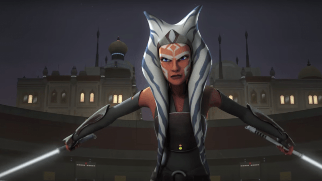 Asohka Tahno - Star Wars Rebels