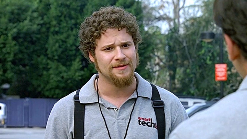 Seth Rogen in 'The 40 Year-Old Virgin'