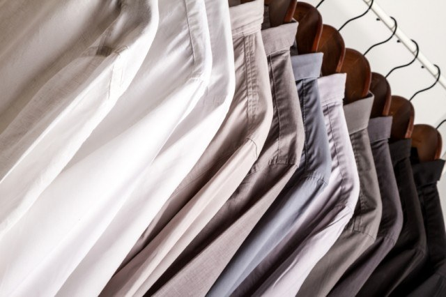 Button-ups in a range of colors