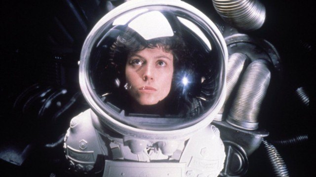 Sigourney Weaver in 'Alien'