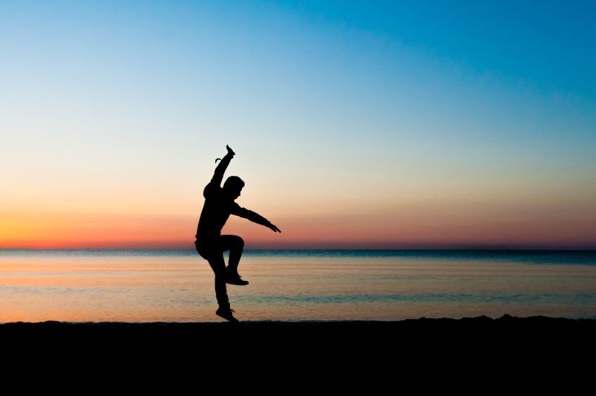 jumping, beach, agility