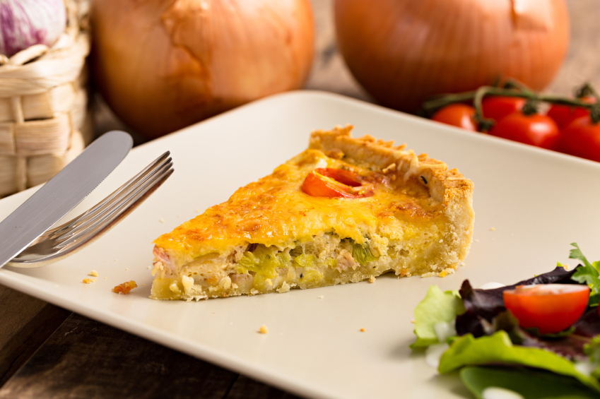 Cook to get cut 5 healthy leek recipes that taste great for Luxury quiche