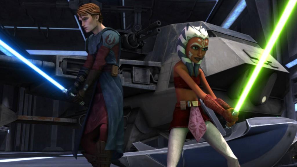 Star Wars: The Clone Wars cartoon series