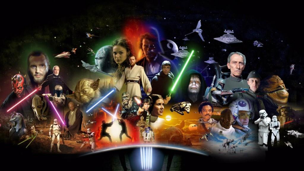 Resultado de imagen de star wars saga