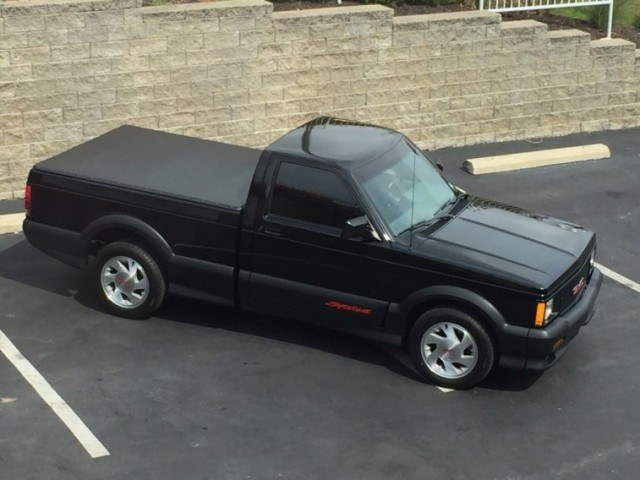 Syclone pickup truck