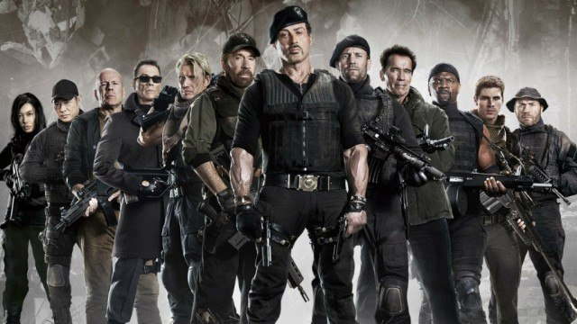 'The Expendables 2' cast