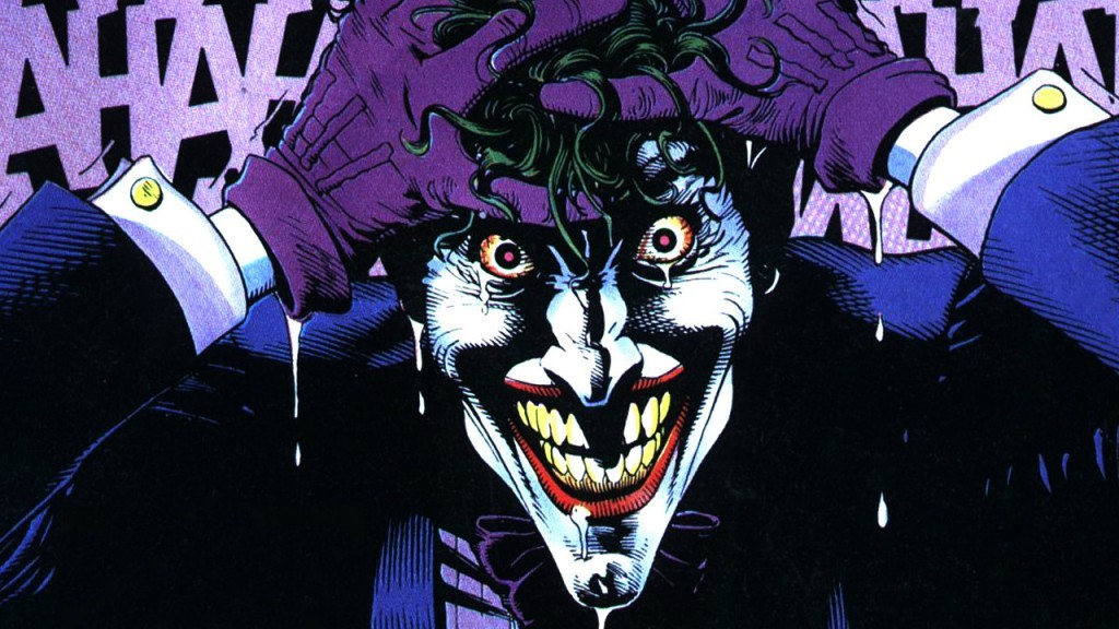The Joker in 'The Killing Joke'