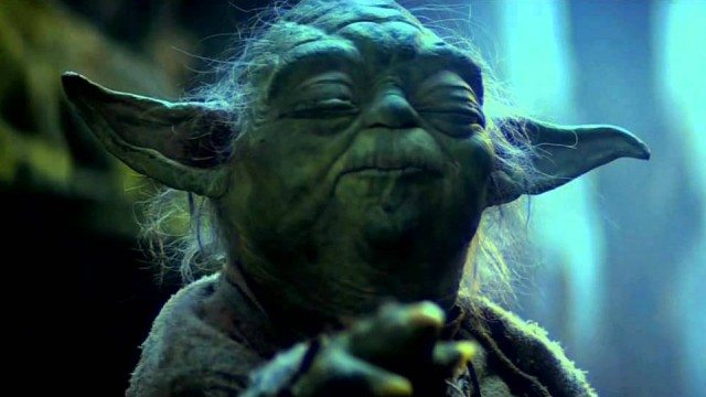 Yoda in The Empire Strikes Back