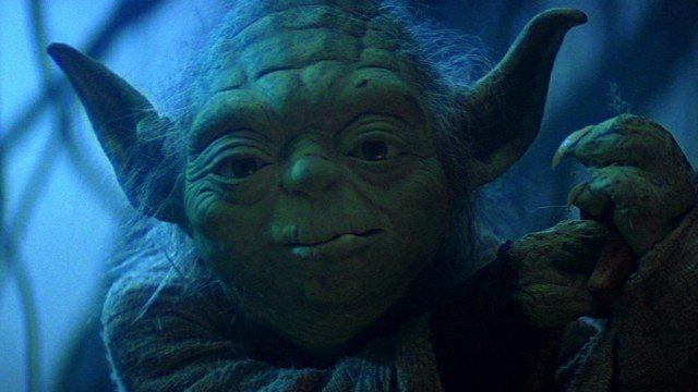 Yoda in Star Wars: The Empire Strikes Back