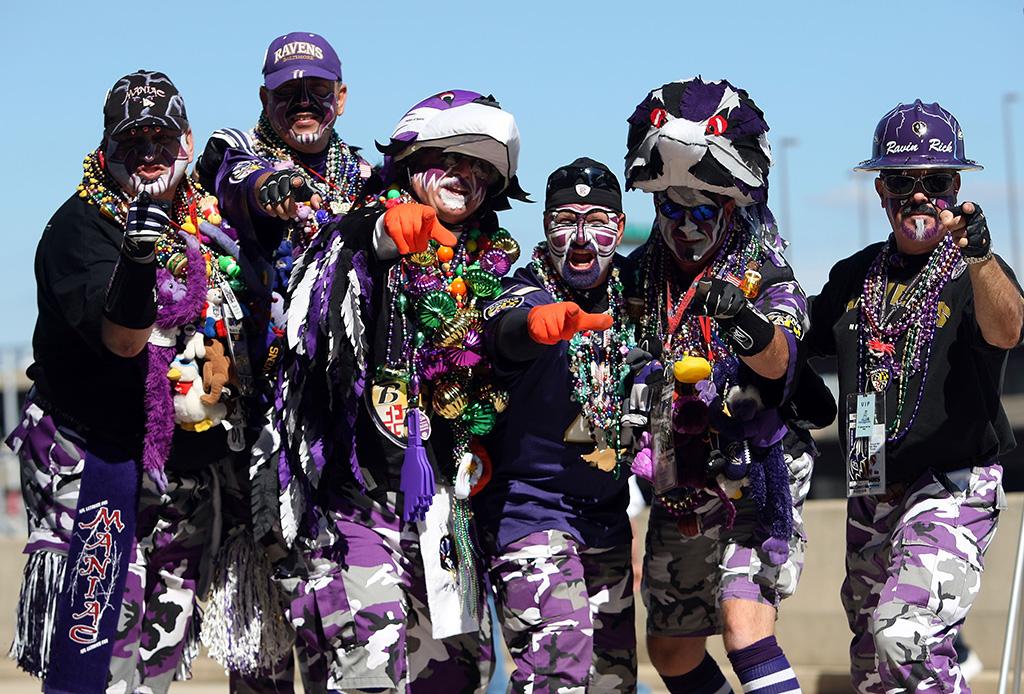 Baltimore Ravens Fans, tailgate