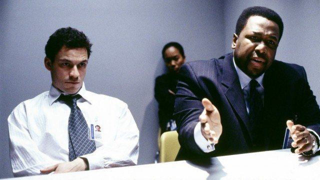 Jimmy McNulty (Dominic West) and Bunk Moreland (Wendell Pierce) in 'The Wire'