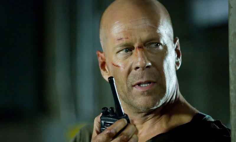 Actor Bruce Willis in 'Die Hard'