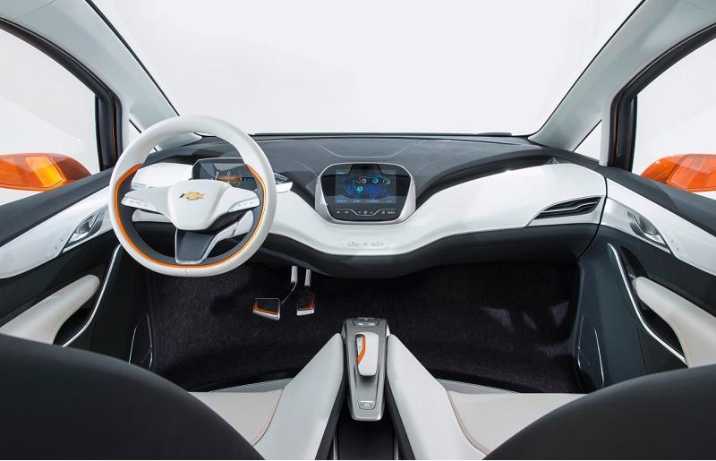 Chevy Bolt EV interior