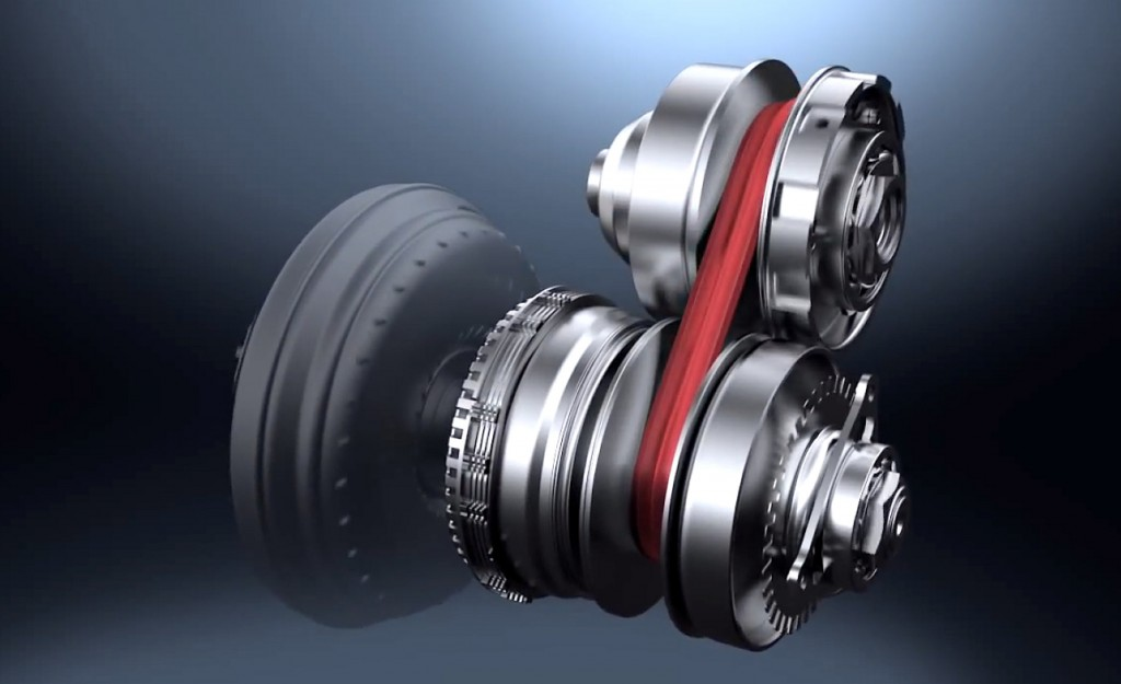 Nissan continuously variable transmission (CVT)