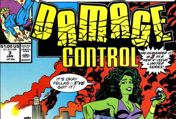 Damage Control, Marvel