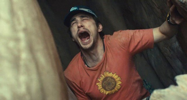 James Franco in '127 Hours'