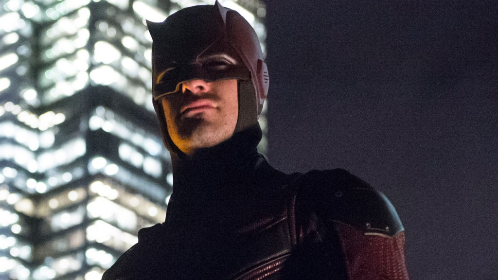Daredevil looks out on the city in Season 2