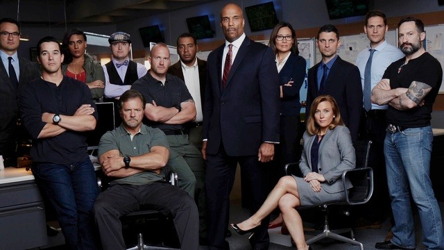 The cast of CBS's reality competition Hunted