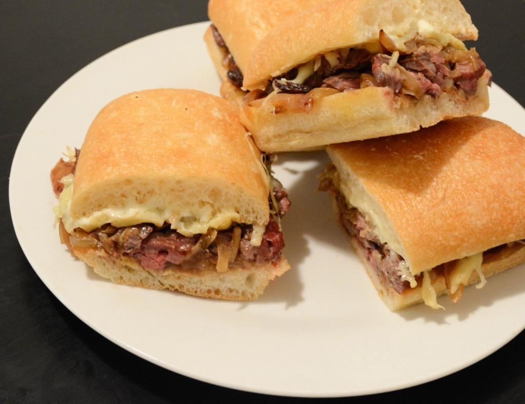 French Onion Steak Sandwiches